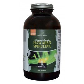 BIO Hawaiiaanse Spirulina 500 mg 650 tabletten