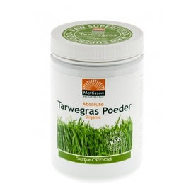 Mattisson Absolute Tarwegras Poeder Bio Raw 300 gram