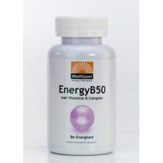 Mattisson Energy B-50 - B-Vitamine Complex 60caps