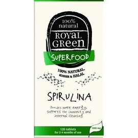 Royal Green Spirulina 120 tabl