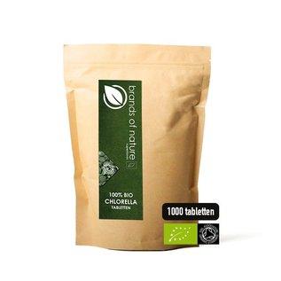 Brands of Nature BIO Chlorella 1000 tabletten (500mg)