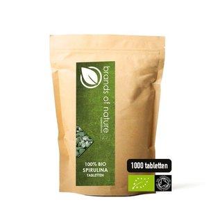 Brands of Nature BIO Spirulina 1000 tabletten (500mg)
