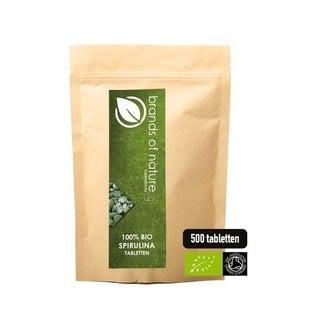 Brands of Nature BIO Spirulina 500 tabletten (500mg)