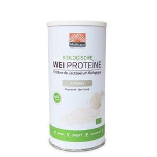 Mattisson Wei Proteïne Naturel Biologisch, 450 gram