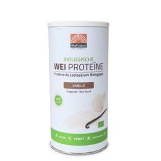 Mattisson Wei Proteïne Vanille Biologisch, 450 gram