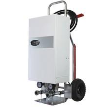 mobile Heizzentrale 24 kW für Bautrocknung Estrichtrocknung Notheizung