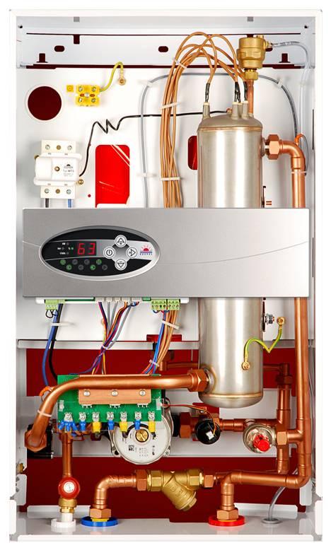 Elektrischer Heizkessel EKCO.LN2 4 kW Elektro-Zentralheizung ...