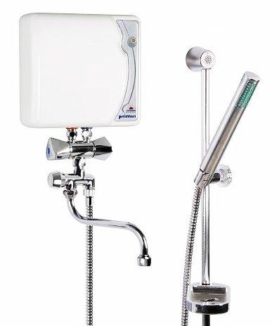 elektrischer durchlauferhitzer epj pu 4 4 kw primus drucklos 230 volt f r dusche und waschbecken. Black Bedroom Furniture Sets. Home Design Ideas
