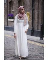 Verona Melania Maxi Dress Ivory