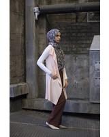 Verona Lia Sleeveless Cardigan - Blush Pink