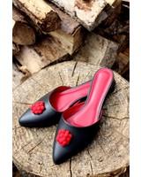 Zamzam Zalila Mule shoes x Pompon