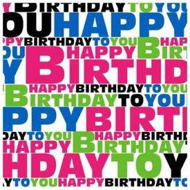 """Happy Birthday"" (los meegeleverd)"