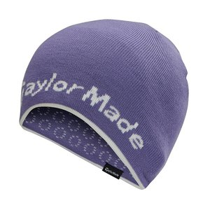 TaylorMade Reversable Ladies Beanie - Paars Wit