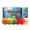 Crystal Soft YELLOW Golfballen - Dozijn / 12 stuks