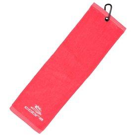 Cobra Tri-Fold Ladies Golfhanddoek - Pink