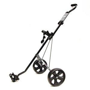 FastFold Basic Aluminium 2-wiels Golftrolley - Zwart