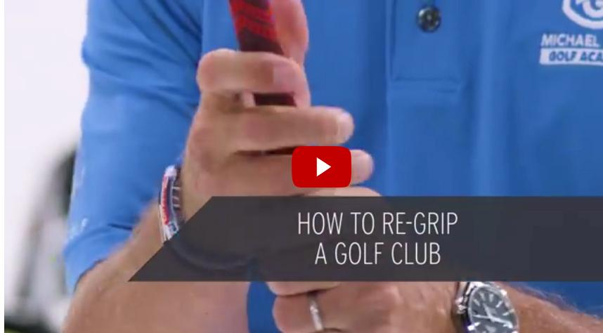 Re-grip je eigen golfclubs