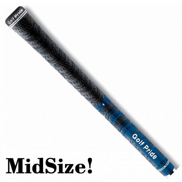 GolfPride New Decade MultiCompound MIDSIZE Grip - Blauw Zwart