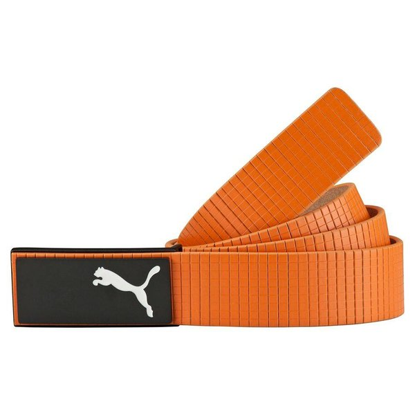 Puma Extension Belt Lederen Broekriem - Oranje