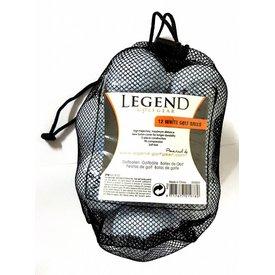 Legend Distance Golfbal Wit - Dozijn / 12 stuks