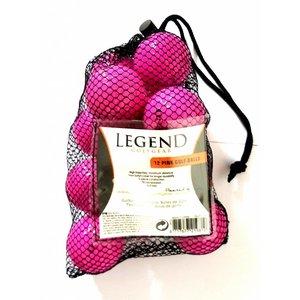Legend Distance Golfbal Roze - Dozijn / 12 stuks