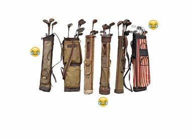 Demo's en gebruikte golfclubs