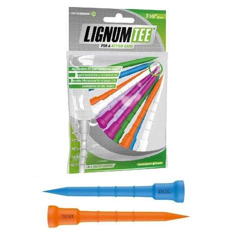 Lignum Tees 82 mm (12 stuks) - Mix Ladies
