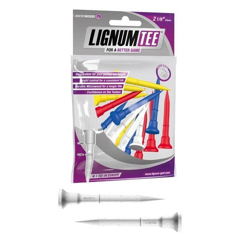 Lignum Lignum Tees 53 mm (16 stuks) - Mix