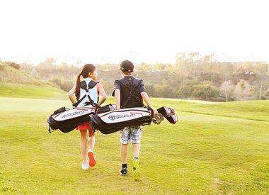Junior golftassen
