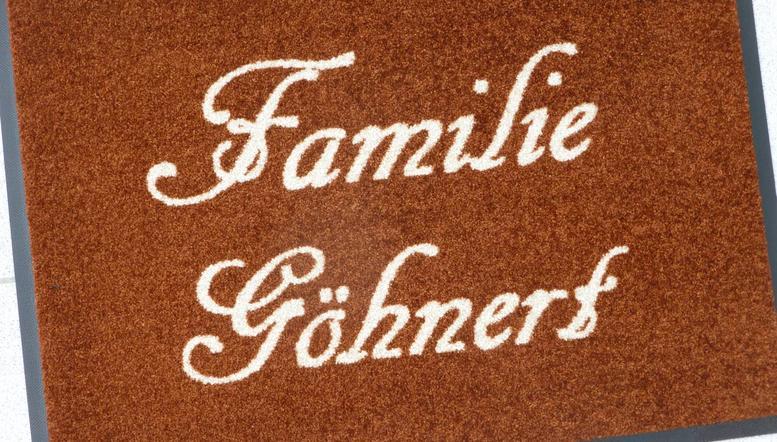 "Designmatte "" Familie """
