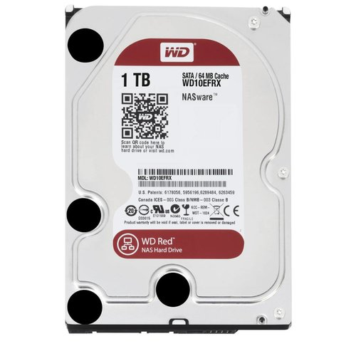 "Western Digital (WDC) 1TB IntelliPower 3.5"" SATA 6 Gb/s RED"