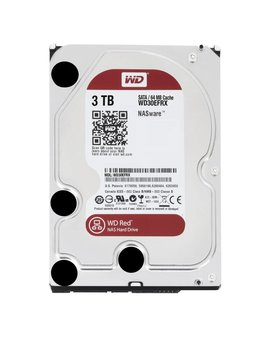 "Western Digital (WDC) 3TB IntelliPower 3.5"" SATA 6 Gb/s RED"