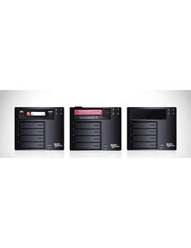 Sans Digital AN4L+BRDX - 64bit 4 Bay NAS + Backup Appliance Dual Gigabit with RDX Docking (Black)