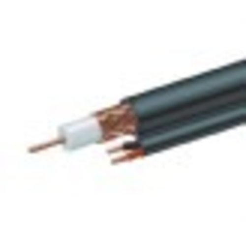 WSM Technology Nederland B.V. RG59 coaxial + power cable, 300 m