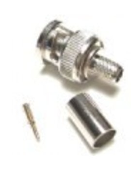 WSMT.NL RG-59 BNC crimping connector, 50 pcs per bag