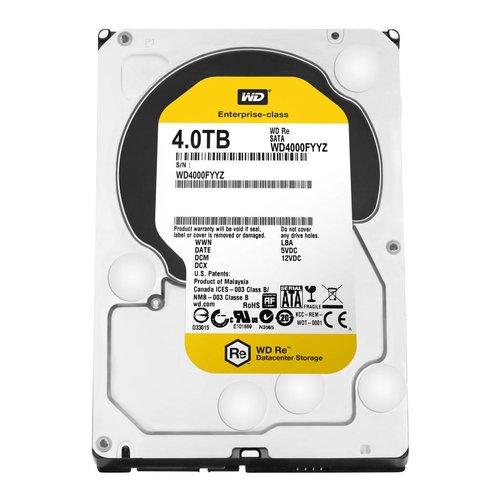 "Western Digital (WDC) 4TB 7.200 rpm 3.5"" SATA 6GB/S RE"