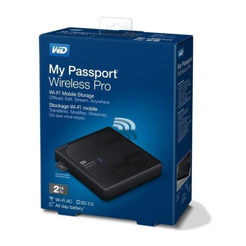 Western Digital (WDC) WD 2TB My Passport Wireless Pro