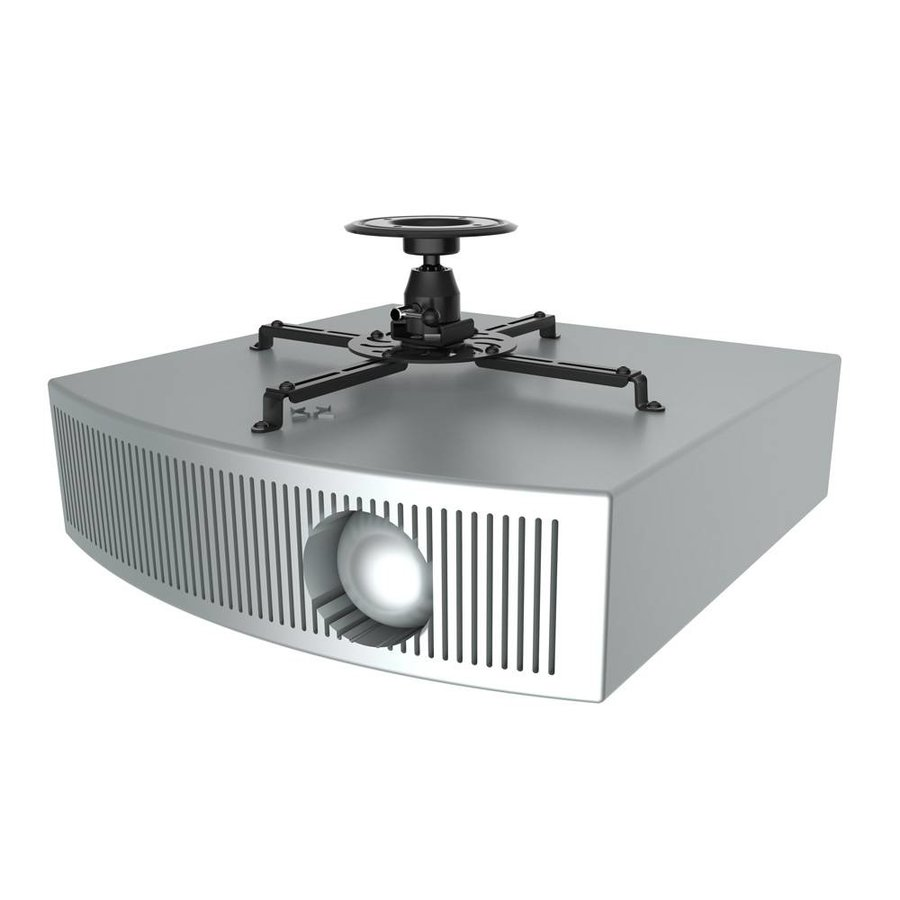 NM-BC25BLACK Projector Ceiling Mount, height 13,5 cm