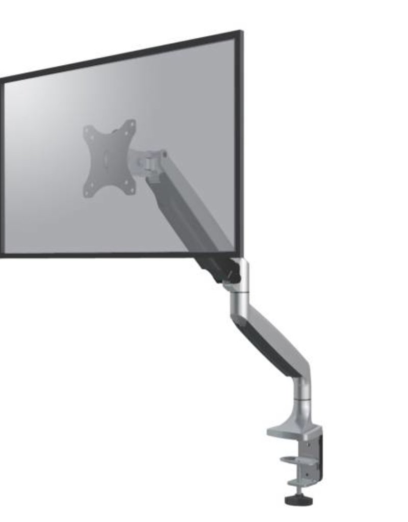 "Neomounts NM-D750SILVER Flat Screen Desk mount (10-32"") desk clamp/grommet"
