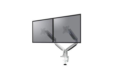 "Neomounts NM-D750DSILVER Flat Screen Desk mount (10-32"") desk clamp/grommet"