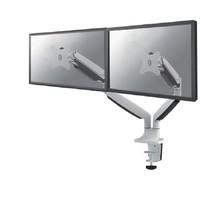 "NM-D750DWHITE Flat Screen Desk mount (10-32"") desk clamp/grommet"