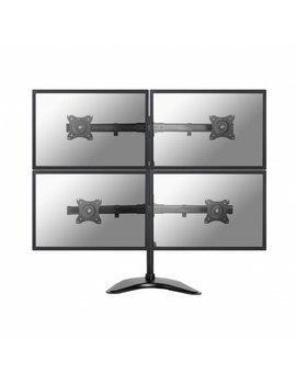 "Neomounts NM-D335D4BLACK Flat Screen Desk mount (10-27"") desk clamp/stand/grommet"