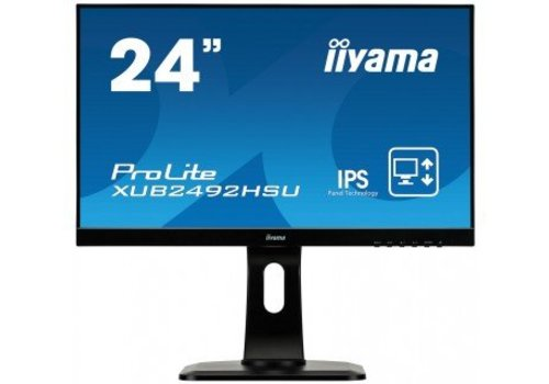 "IIyama 24"" IPS LED 1920x1080 (HDMI, Display Port, VGA)"