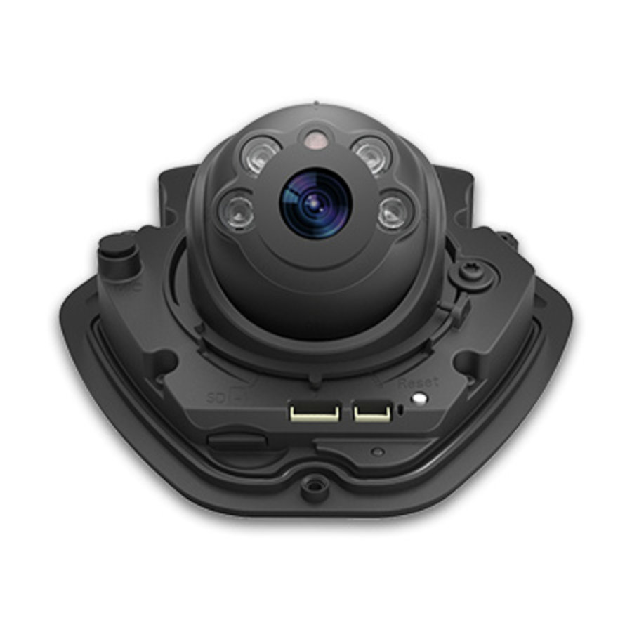 2MP Vandal-proof Mini Dome Camera