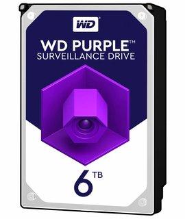 """Western Digital (WDC) 6TB Puple 3.5"""" SATA Surveillance HDD"""