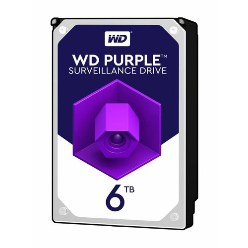 "Western Digital (WDC) 6TB Puple 3.5"" SATA Surveillance HDD"