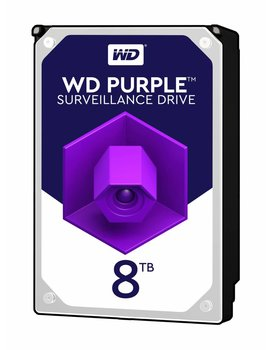 "Western Digital (WDC) 8TB Puple 3.5"" SATA Surveillance HDD"