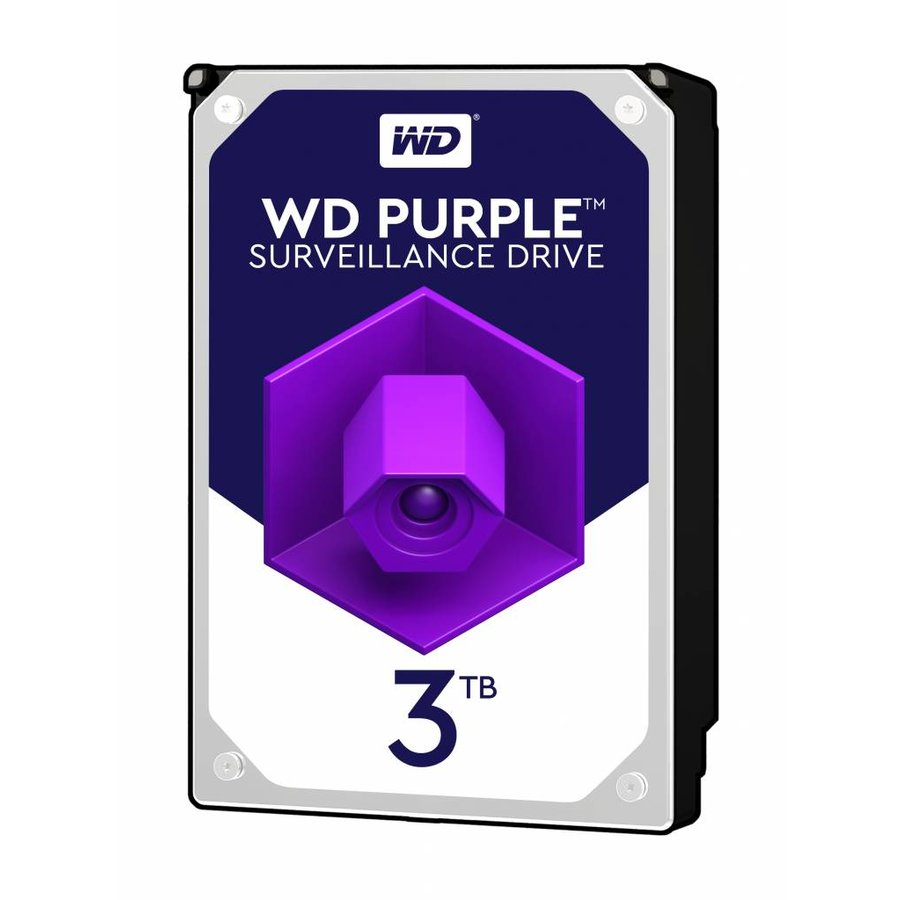 "3TB Purple 3.5"" SATA Surveillance HDD"