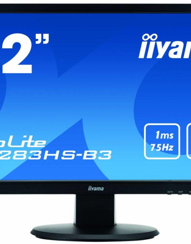 "IIyama Prolite E2283HS-B3, 22"" LED, VGA/DP/HDMI"