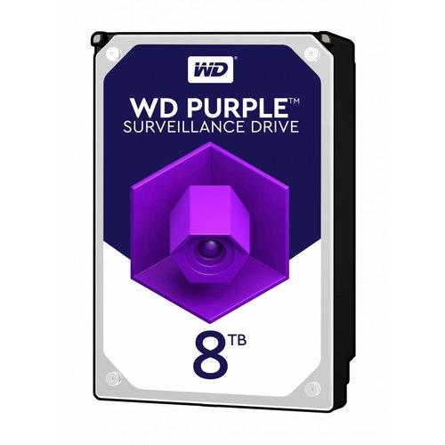"""Western Digital (WDC) 8TB 3.5"""" SATA Surveillance HDD Purple"""